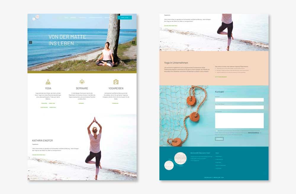 Yoga Gesundheitspraxis Website 2