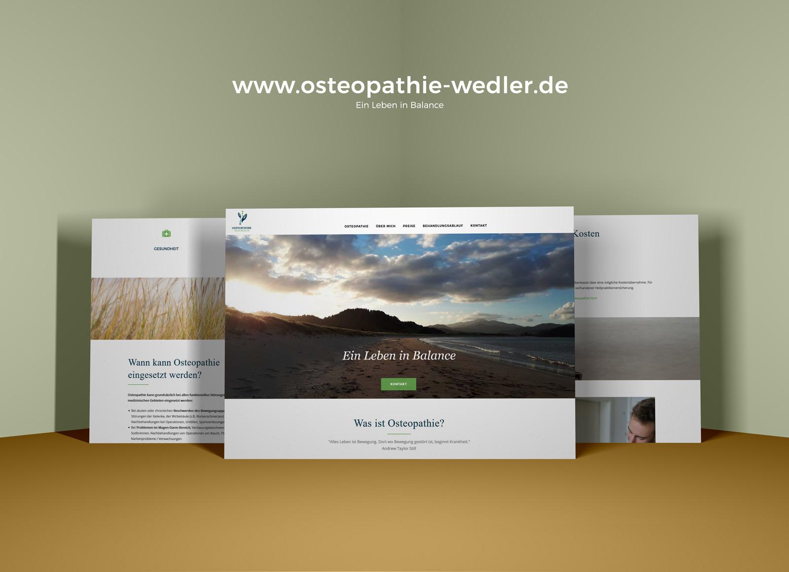 Felix Wedler Website