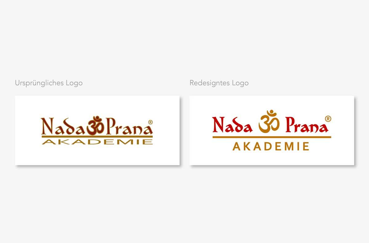 Nada Prana Logo Relaunch