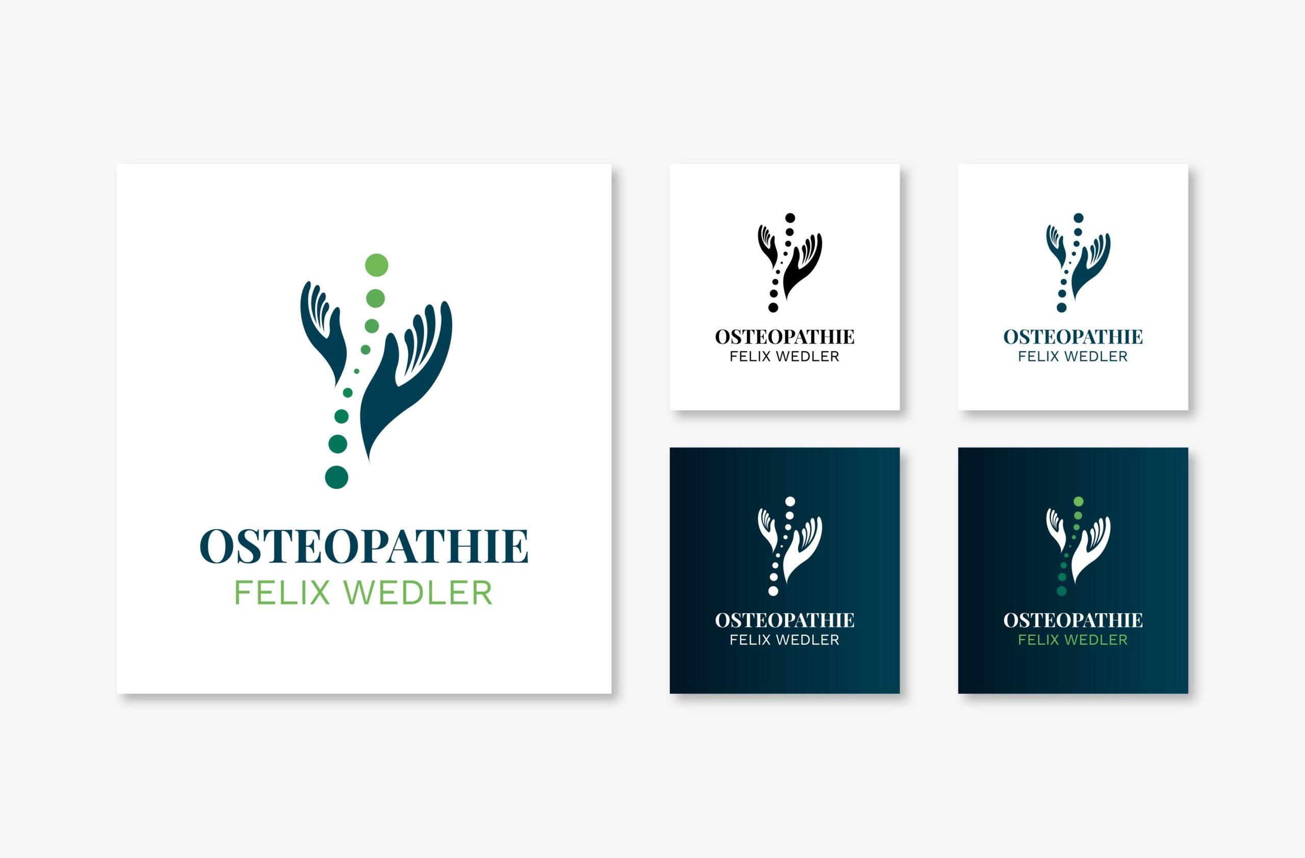 Osteopathie Felix Wedler - Logo
