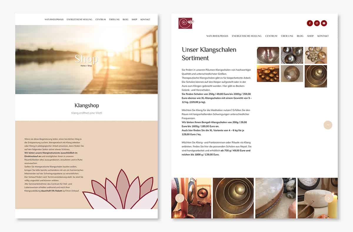Wohlsein Website 4